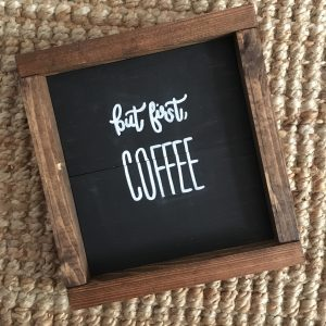 first Coffee Box Frame