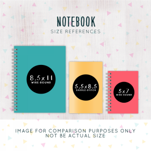 notebook sizes