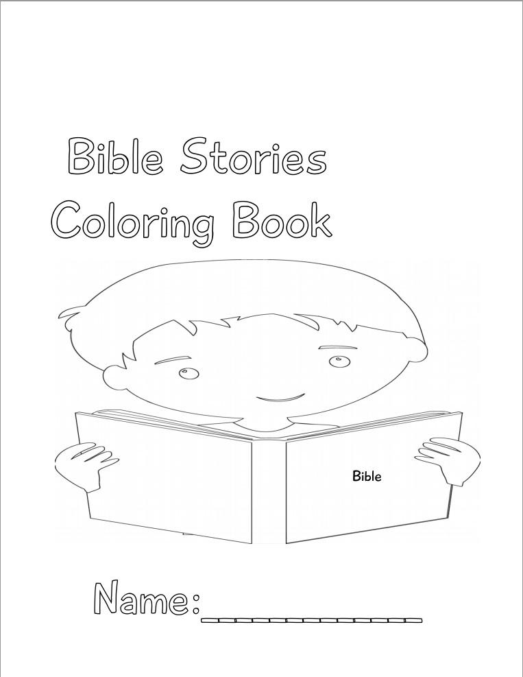Bible Stories Coloring Book Boys – I Shop JW