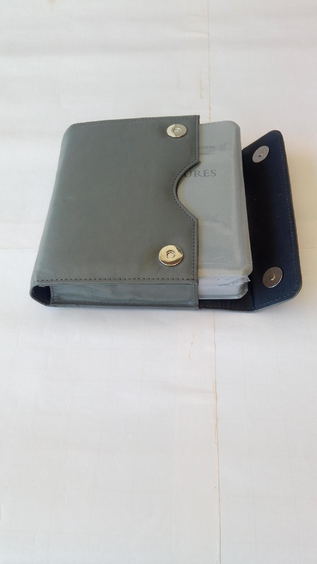 Leather Deluxe Bible Pouch