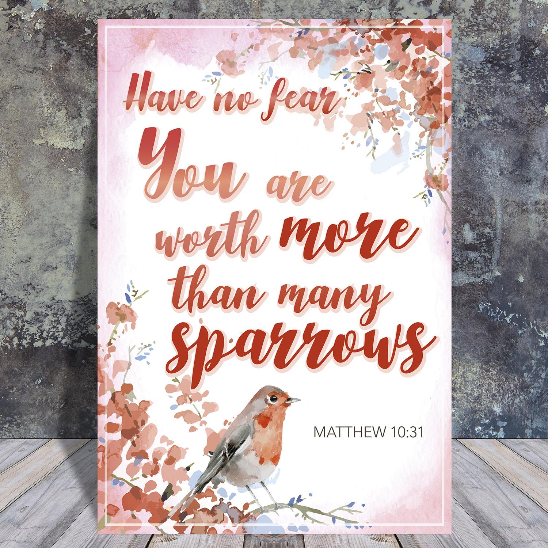 Matthieu10-31 - Scripture quote digital printable - JW