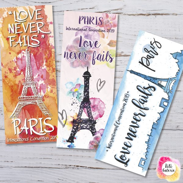 LiliGalerie - Bookmarks - Paris Convention 2019