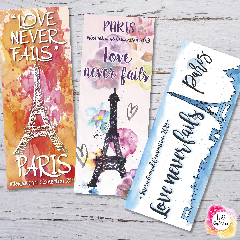 LiliGalerie - Bookmarks - Paris Convention 2019