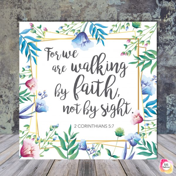 2 Corinthians 5-7 - Scripture quote digital printable - JW