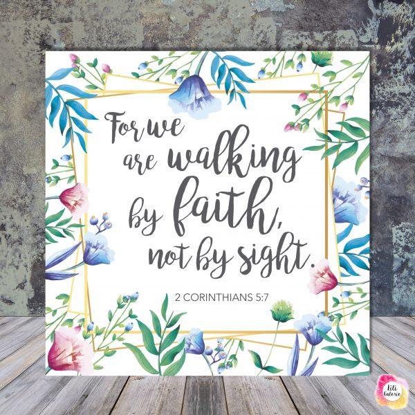2 Corinthians 5-7 - Scripture quote digital printable - JW
