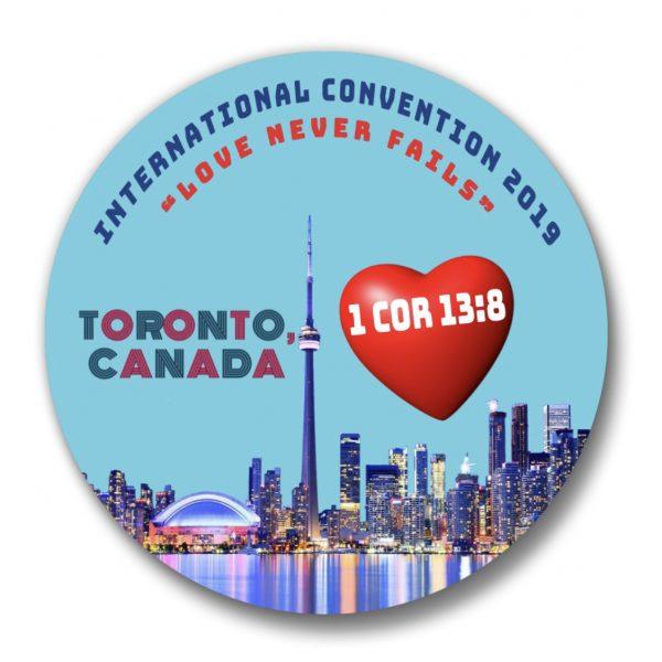 JW International Convention Pins Toronto Products Jw