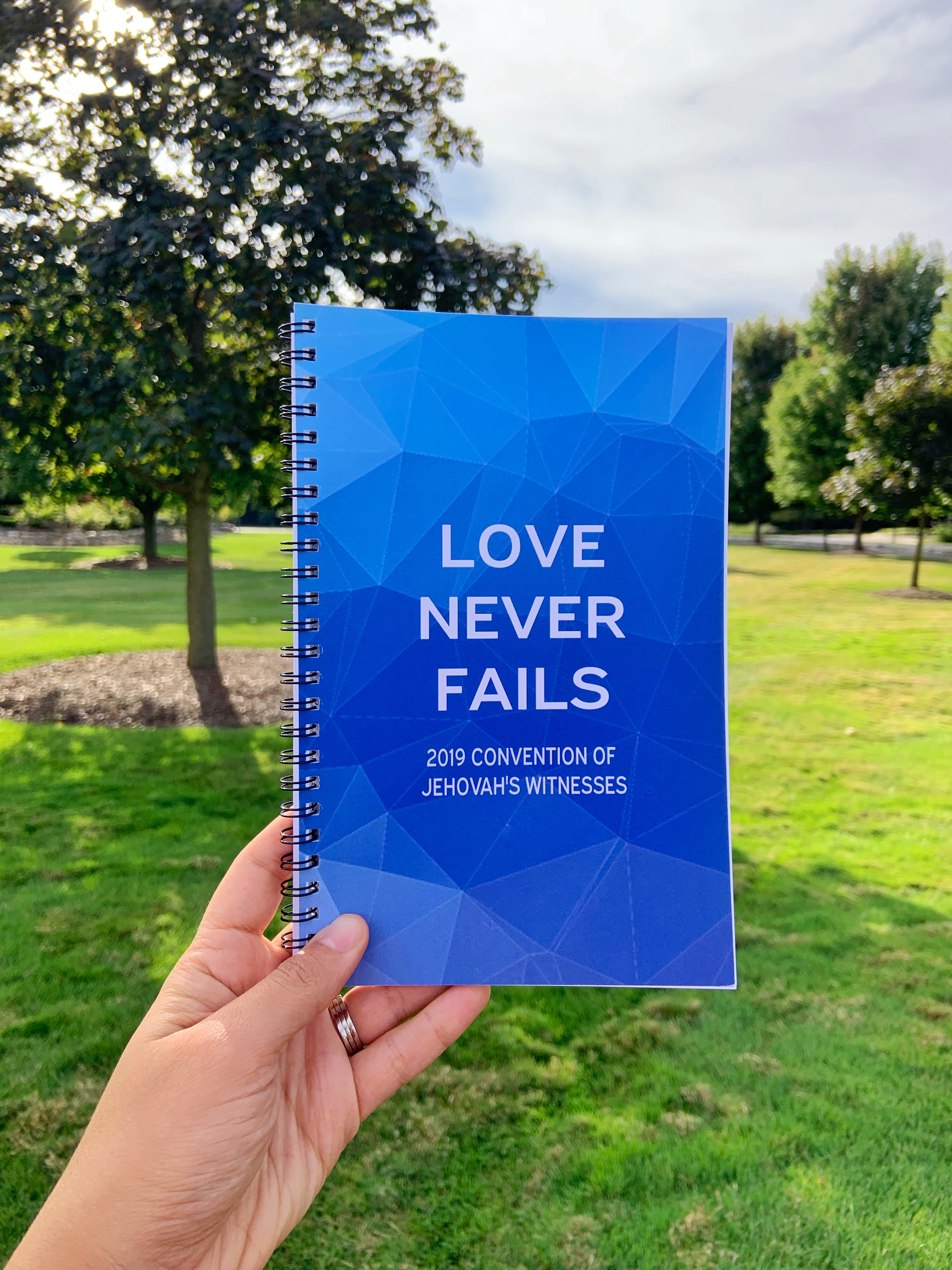 love never fails convention notebook 2019
