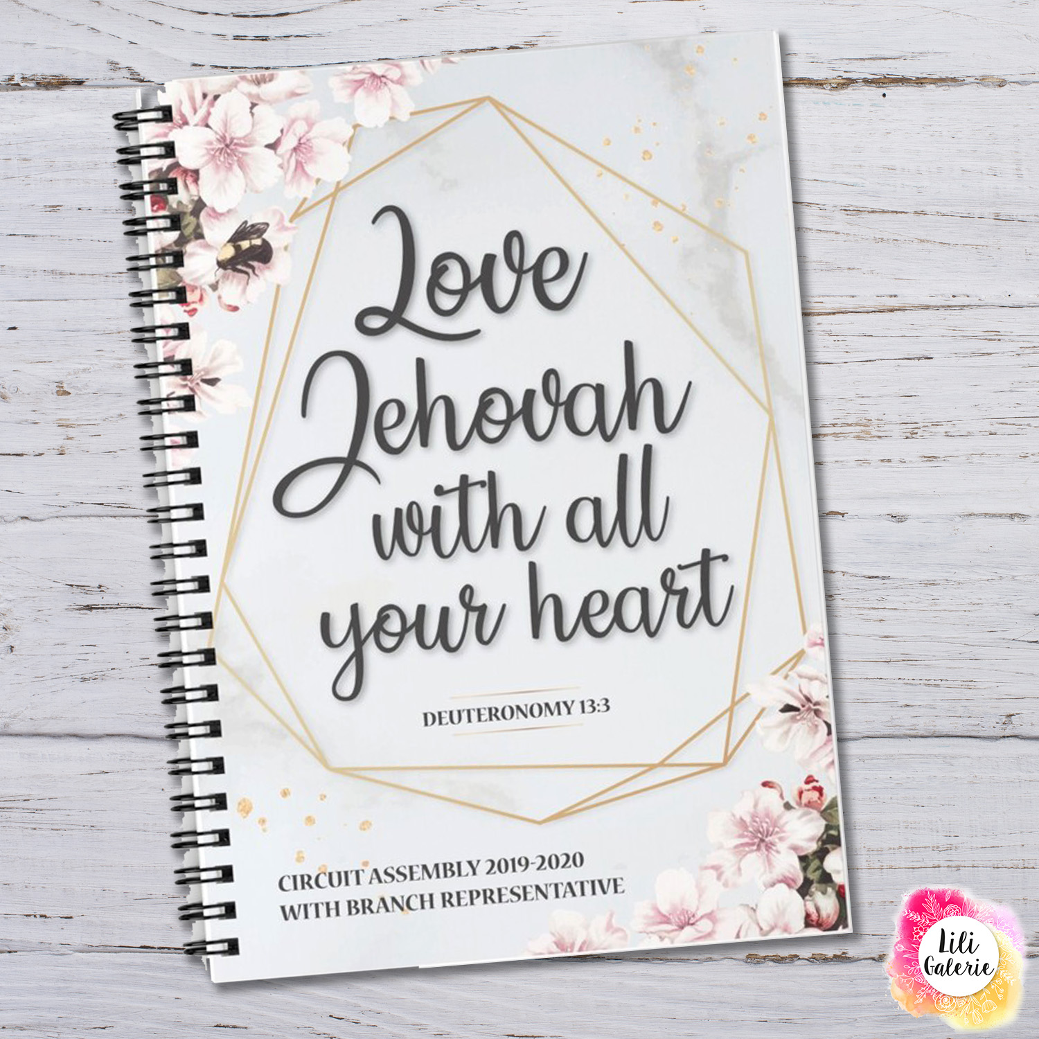 Circuit Assembly notebook - Love Jehovah with all your heart