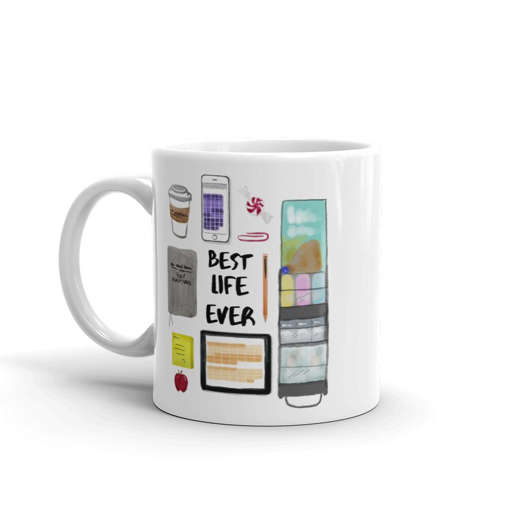 Best Life Ever ASL Cart Mug