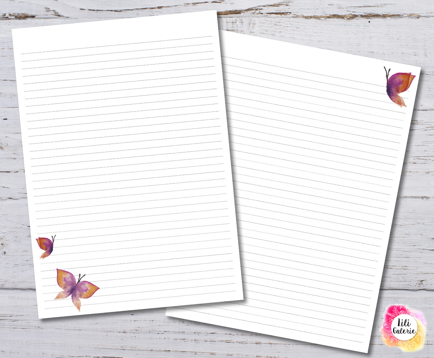 LiliGalerie- paper writing designs