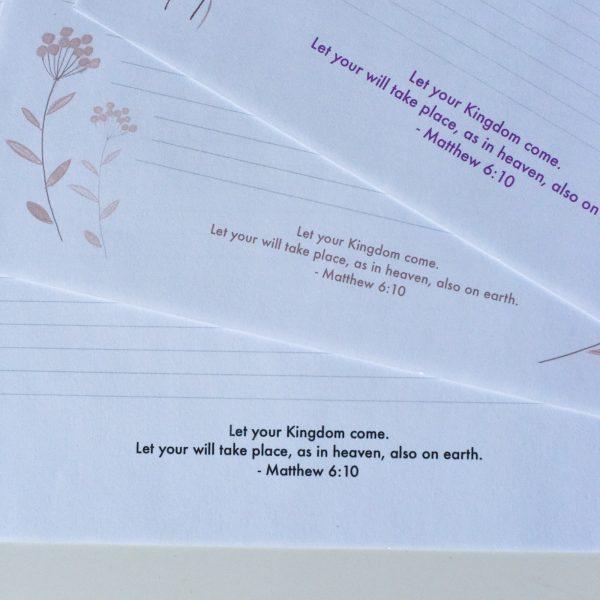 letter writing Kingdom Campaign JW
