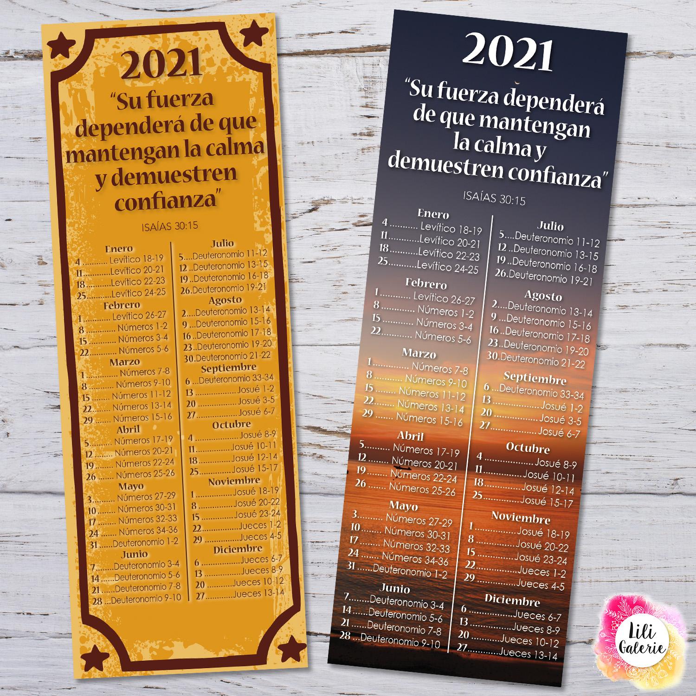 LiliGalerie-Marcador-Lectura Biblia 2021