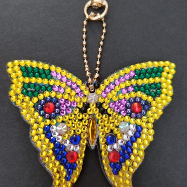 Butterfly Keychain Multicolor
