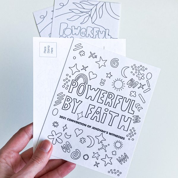 powerful by faith printables for kids