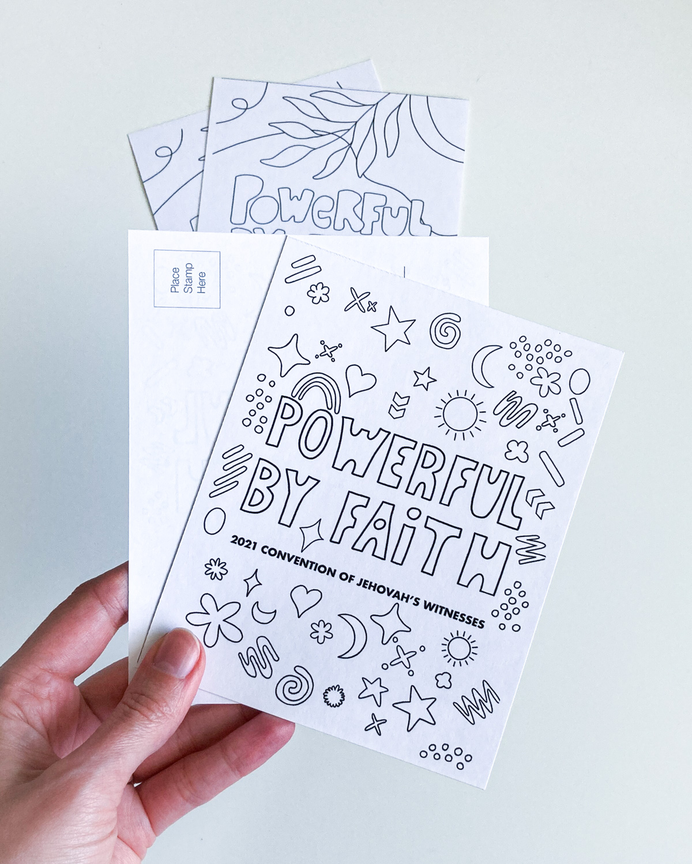 powerful by faith printables for kids