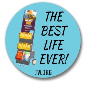 75 Best Life Ever Buttons – 1.25""