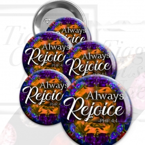 """Regional Convention """"Always Rejoice"""" 2020 pin buttons. 1.5"""" jw.org buttons pins #Precious stones"""