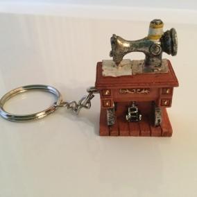 Sewing Machine Keychain