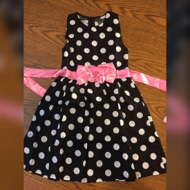 ✨Children's Polka Dot Spring Dress 🌸