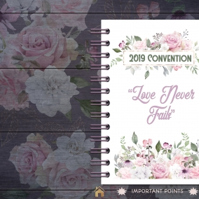 """Love Never Fails"" Digital Notebook with Hyperlinks *FREE Download*"