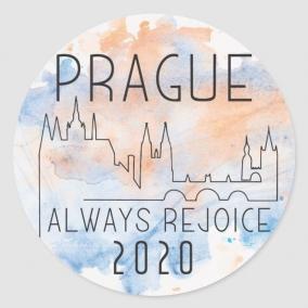 Always Rejoice – Prague Stickers