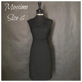 Mossimo Brand Little Black Dress – Size 6