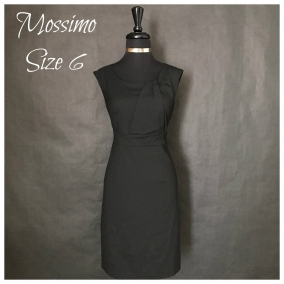 Mossimo Brand Little Black Dress – Size 6