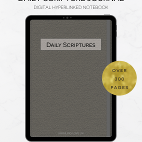 DIGITAL Hyperlinked JW Examining The Daily Scriptures Journal – Daily Text – Goodnotes, Zoomnotes, Xodo, Notability, Etc.