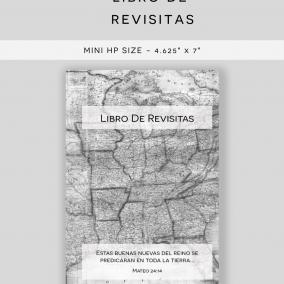 PRINTABLE JW Libro De Revisitas – Return Visit Book PDF Instant Download – Mini Happy Planner Size