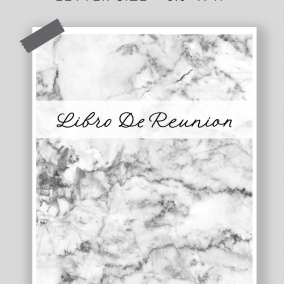 Printable Libro De Reunion – JW Meeting Workbook Inserts – Letter Size – Instant Download PDF – OCLAM, Watchtower, Public Talks/Notes Pages – SPANISH EDITION