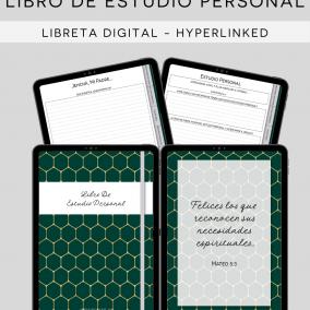 DIGITAL Hyperlinked JW Libro De Reunion – Personal Study Notebook Workbook – PDF Instant Download – Goodnotes, Notability – Spanish