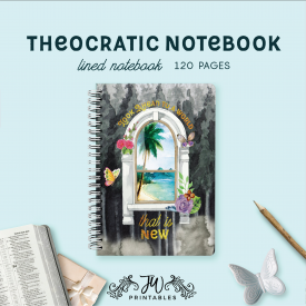 Look Ahead To a World That is New – Notebook (Feminine) | JW Gift