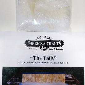 """The Falls"" 2015 Row by Row – Village Fabrics & Crafts"