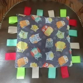 Owl Taggie Blanket-2