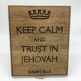 Keep Calm Isaiah 30:15