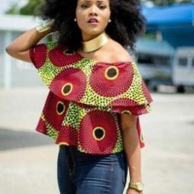 Ankara circle blouse
