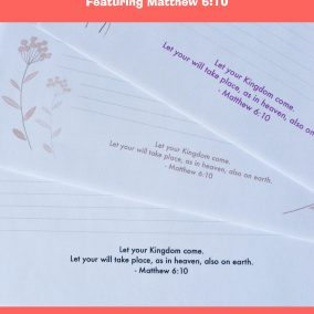 printable letter writing paper for Jehovah's Witnesses
