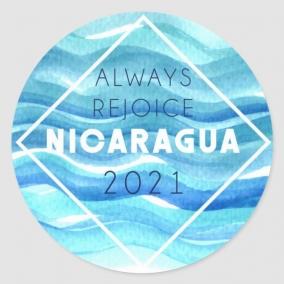 Always Rejoice – Nicaragua Stickers