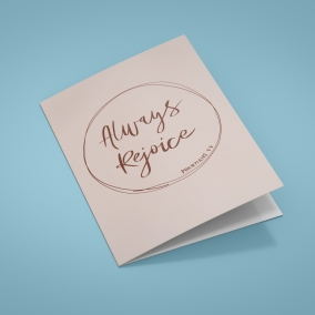 Always Rejoice Convention Printable Cards