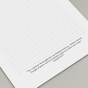 letter writing JW
