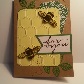 For You Busy Bee Greeting Card