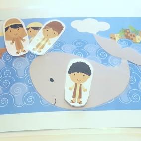 Jonah and the Big Fish Busy Bag