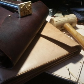 Leather Ministry Organizer.