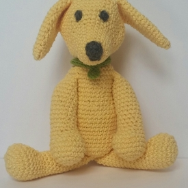 Yellow Lab Play Pal Toy