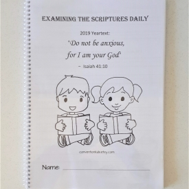 Text Book for Kids to write the scripture