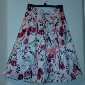 Woman's Pleated Skirt