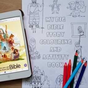 My Big Bible Story Colouring & Activity Book – Instant PDF Download