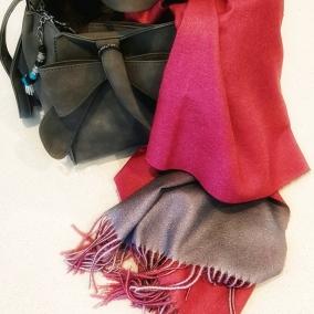 Reversible Cashmere Scarves/Wraps