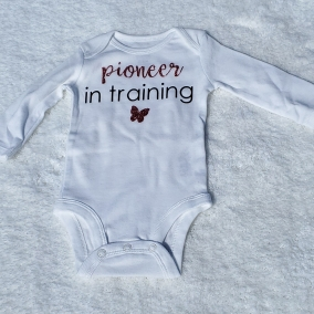 Pioneer in Training | Baby Onesie