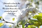 Psalm 34:18 Encouraging 8″ x 10″ Photographic Print